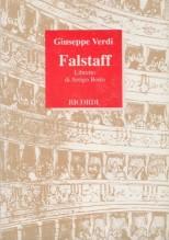 Verdi, G. : Falstaff, libretto