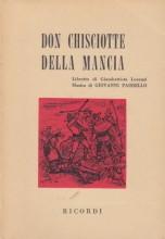 Paisiello, G. : Don Chisciotte della Mancia, libretto
