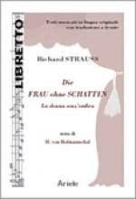 Strauss, R. : La donna senz'ombra, libretto con testo originale a fronte