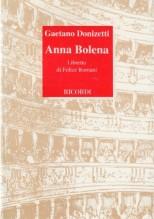 Donizetti, Gaetano : Anna Bolena. Libretto