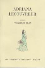 Cilea, F. : Adriana Lecouvreur, libretto