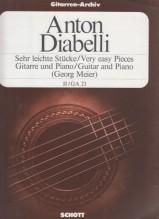 Diabelli, A. : Pezzi facilissimi per Chitarra e Pianoforte, vol. 2