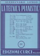 Longo, A. : La tecnica pianistica, fascicolo 4. Tecnica degli arpeggi