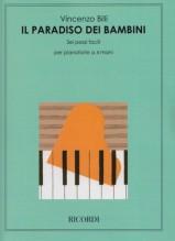 Billi, V. : Il paradiso dei bambini: 6 pezzi facili per pianoforte a 4 mani