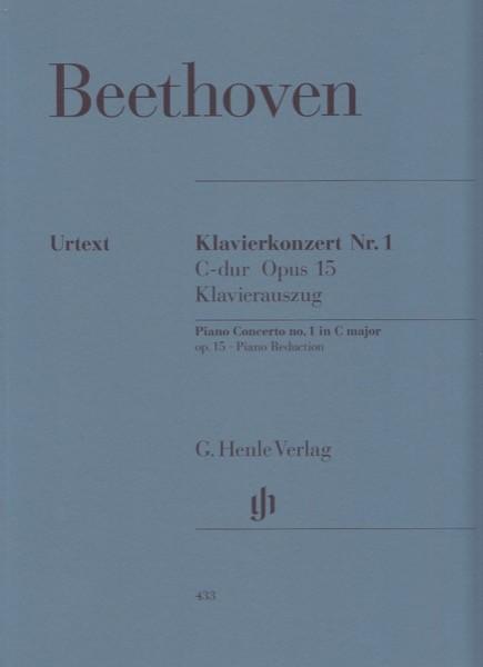Beethoven, Ludwig van : Concerto n. 1 op. 15 per Pianoforte e Orchestra, riduzione per 2 Pianoforti. Urtext