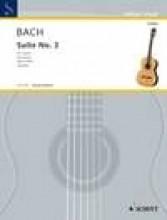 Bach, J.S. : Suite per Violoncello n. 3 BWV 1009, trascrizione per Chitarra