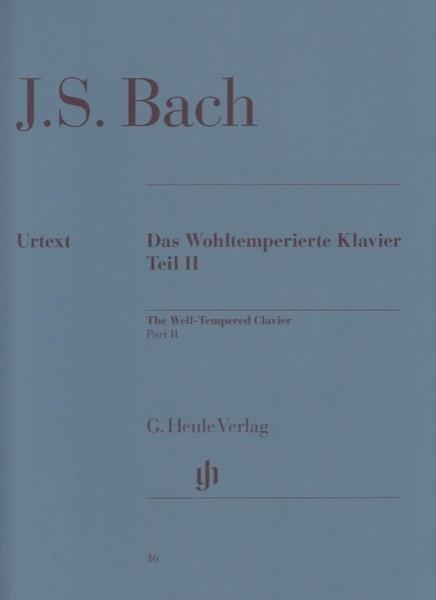 Bach, J.S. : Il Clavicembalo ben temperato, vol. II. Urtext