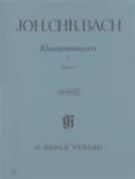 Bach, J. Ch. : Klaviersonaten op. 5, per Clavicembalo, vol. I. Urtext