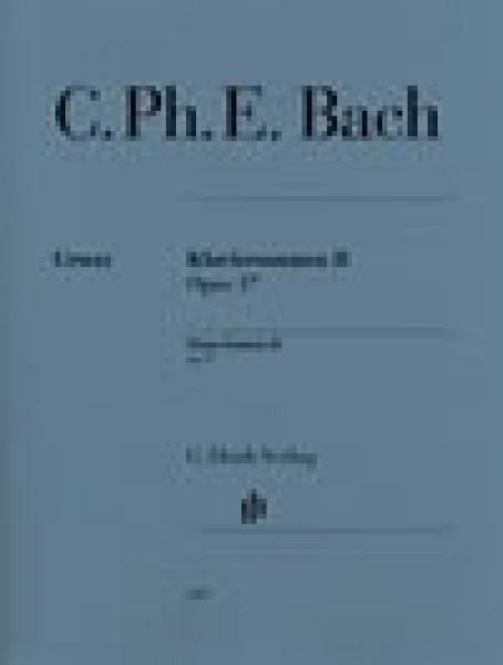 Bach, J.Ch. : Klaviersonaten op. 17, per Clavicembalo, vol. II. Urtext