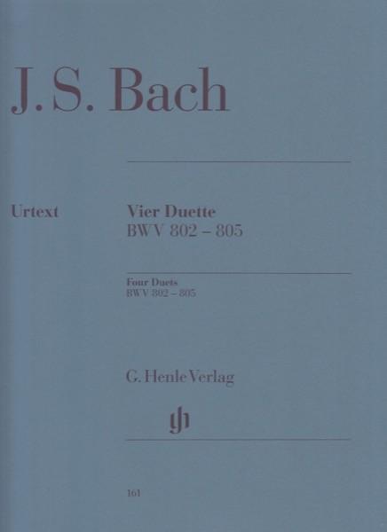 Bach, J.S. : 4 duetti per Clavicembalo. Urtext