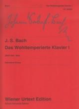 Bach, J.S. : Il Clavicembalo ben temperato, vol. I. Urtext