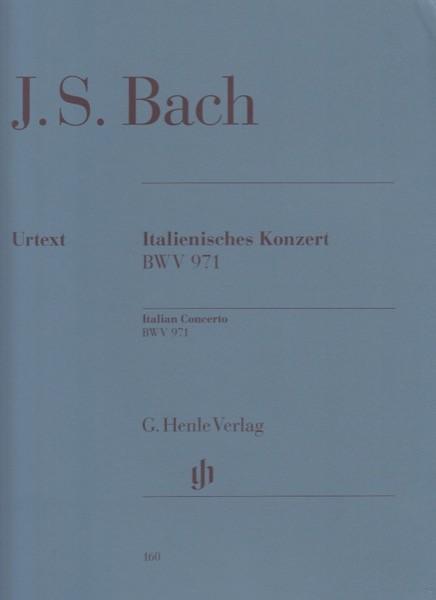 Bach, Johann Sebastian : Concerto Italiano BWV 971, per Clavicembalo. Urtext