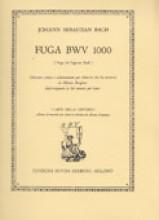 Bach, J.S. : Fuga BWV 1000, trascrizione per Chitarra