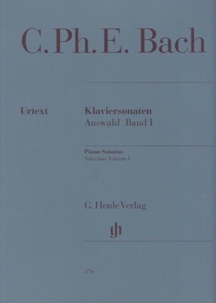 Bach, C.P.E. : Piano Sonatas. Selection, vol. I. Urtext