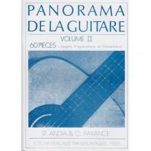 AA.VV. : Panorama de la Guitare, vol. 2. 60 Pieces - Degrés Préparatoire et Elémentaire