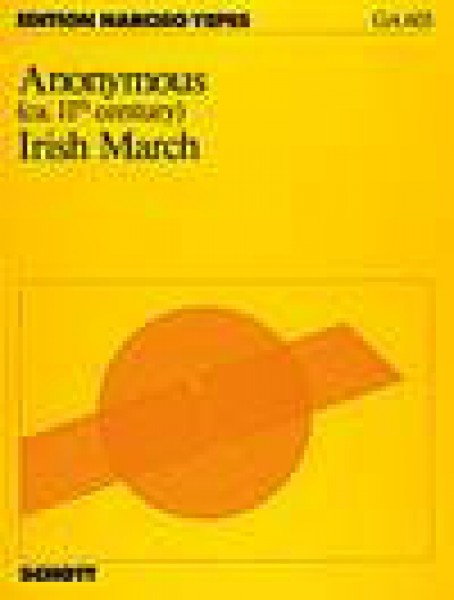 Anonimo sec. XI : Irish March, per Chitarra (Yepes)