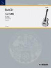 Bach, J.S. : Gavotte, per Chitarra