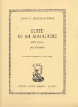 Bach, J.S. : Suite in Mi BWV 1006/a, per Chitarra