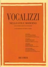 AA.VV. : Vocalizzi nello stile moderno con pianoforte (8 vocalizzi per voce media - serie I)