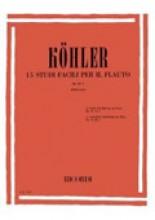Köhler, Ernesto : Studi per Flauto, op. 33: vol. I, 15 studi facili (Fabbriciani)
