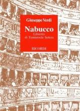 Verdi, G. : Nabucco, libretto