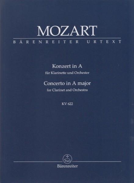 Mozart, W.A. : Concerto K 622, per Clarinetto e Orchestra. Partitura tascabile. Urtext