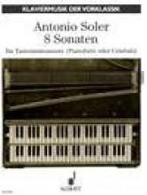 Soler, A. : 8 Sonate per Pianoforte o Clavicembalo (Ruf)