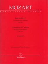 Mozart, Wolfgang Amadeus : Concerto in do per Pianoforte e Orchestra KV 415, riduzione per 2 Pianoforti. Urtext