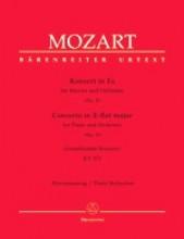 Mozart, Wolfgang Amadeus : Concerto KV 271 Jeunehomme-Konzert per Pianoforte e Orchestra, riduzione per 2 Pianoforti. Urtext