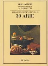 AA.VV. : Arie antiche, per Canto e Pianoforte vol. 1