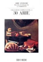 AA.VV. : Arie antiche, per Canto e Pianoforte vol. 2