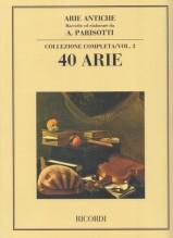 AA.VV. : Arie antiche, per Canto e Pianoforte vol. 3