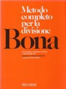 Bona, P. : Metodo completo per la divisione