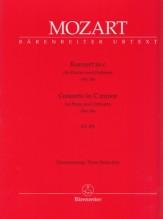 Mozart, Wolfgang Amadeus : Concerto per Pianoforte e Orchestra KV 491, riduzione per 2 Pianoforti. Urtext