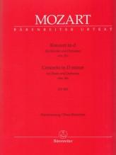 Mozart, Wolfgang Amadeus : Concerto KV 466 in re minore per Pianoforte e Orchestra, riduzione per 2 Pianoforti. Urtext
