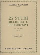 Carcassi, M. : 25 Studi op. 60, per Chitarra