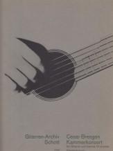 BRESGEN, C. : Concerto da camera per Chitarra e piccola Orchestra, riduzione per Chitarra e Pianoforte