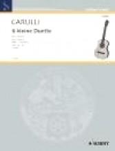 Carulli, F. : 6 Piccoli duetti, op. 34 vol. II (4-6), per 2 Chitarre