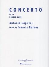 Capuzzi, A. : Concerto in fa per Contrabbasso e Orchestra, riduzione per Contrabbasso e Pianoforte