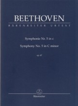 Beethoven, L. van : Sinfonia n. 5 op. 67 in do minore, partitura tascabile. Urtext