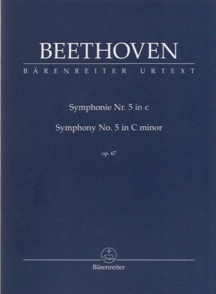 Beethoven, L. van : Sinfonia n. 5 op. 67 in do minore, partitura tascabile. Urtext
