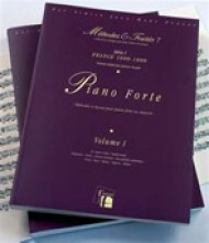 AA.VV. : Piano forte, Francia 1600-1800. Metodi e Trattati, vol. I. Facsimile