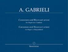 Gabrieli, A. : Composizioni per Organo e Cavicembalo, vol. IV: Canzoni e Ricercari ariosi. Urtext