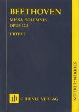 Beethoven, L. van : Missa Solemnis op. 123. Partitura tascabile. Urtext
