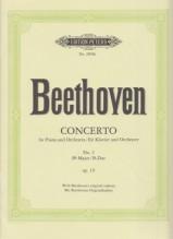 Beethoven, L. van : Concerto n. 2 op. 19 per Pianoforte e Orchestra, riduzione per 2 Pianoforti
