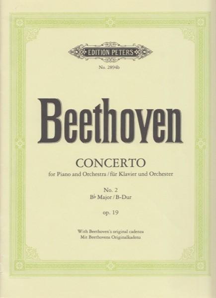 Beethoven, Ludwig van : Concerto n. 2 op. 19 per Pianoforte e Orchestra, riduzione per 2 Pianoforti