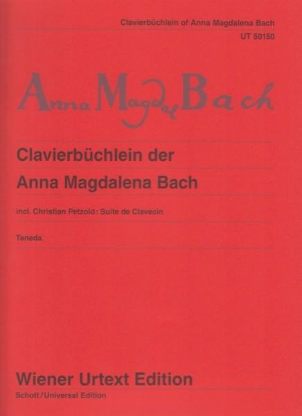 Bach, J.S. : Quaderno di Anna Magdalena, per Clavicembalo. Urtext