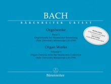 Bach, J.S. : Composizioni per Organo, vol. IX: Organ Chorales from the Neumeister Collection. Urtext