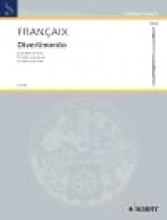 Francaix, Jean : Divertimento per Flauto e Pianoforte