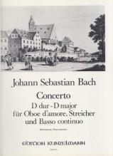Bach, J.S. : Concerto in re per Oboe d'amore, Archi e Basso continuo, riduzione per Oboe d'amore e Pianoforte